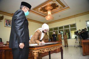 Rapat Paripurna XIII  Penyampaian Rekomendasi DPRD Sumsel  Terhadap LKPJ Gubernur Sumsel  2019