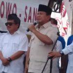 Tiba Di Garut, Ini Penyampaian Calon Presiden Prabowo Subianto