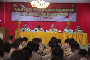 Polda Banten Adakan Pelatihan Kehumasan