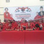 DPC PDI Perjuangan Garut Gelar Rapat Konsolidasi Internal Partai