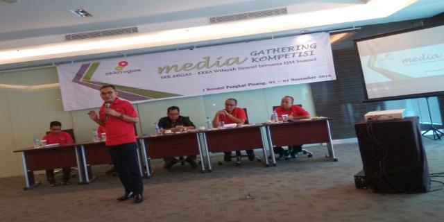 Puluhan Wartawan Sumsel Ikuti Media Gathering & Kompetisi di Pangkal Pinang