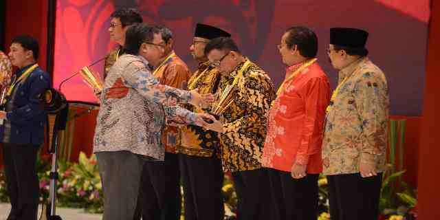 Muara Enim Raih Anugerah Pangripta Nusantara