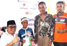 60 Anak di desa Danau Cala Ikuti Sunatan Massal