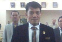 Anggota Dewan kabupaten Banyuasin Darul Qutni.