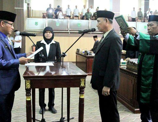 Syairi Remuso Menjadi PAW anggota DPRD Muba