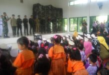 Danyon Zikon 12 Karana jaya Desa Langkan, Bersama Anak-anak Usia Dini