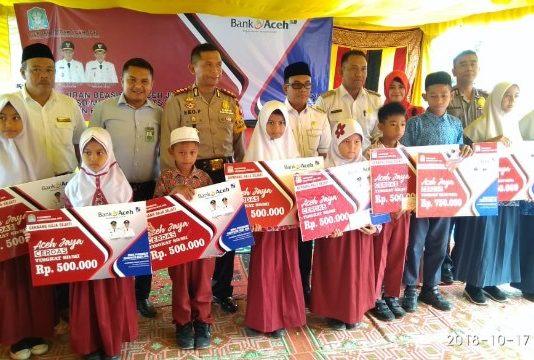 Pemkab Aceh Jaya Kembali Memberikan Dana Beasiswa, Aceh Jaya Cerdas