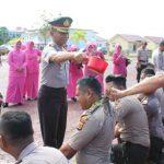 30 Personel Polres Naik Pangkat. Ini Pesan Kapolres Aceh Jaya