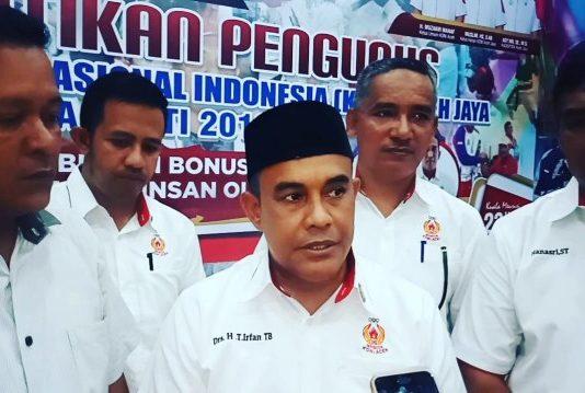 T. Irfan TB Pimpin KONI Aceh Jaya 2018-2022
