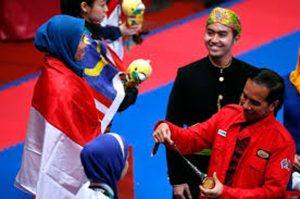 Defia Rosmaniar (Peraih Emas) Dapat Hadiah Apartemen dari Wali Kota Bogor