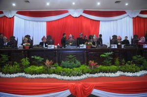 DPRD Sumsel Gelar Rapat Paripurna Istimewa HUT Sumsel ke-73