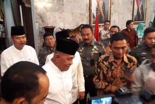 Buka Bersama Gubernur dan IKA UNSRI, Menteri Pertahanan Sampaikan Pesan Penting