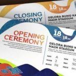 Tiekt Asian Games Bisa Dibeli Secara Online