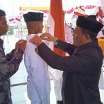Bupati Aceh Jaya Kukuhkan 75 Anggota Paskibra