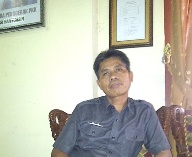 Kepala Sekolah SMA N1 Babat Supat, Drs Arminadi MM