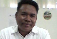 Ketua Panitia Penyelenggara Bimtek, H. Ahmad S. Ag, MM