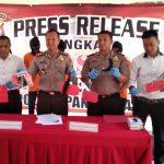 Polres Pandeglang Bekuk Curanmor Tiga Pelaku Berstatus Pelajar.