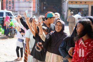 Klinik Cisanca Bagikan Ribuan Sembako Gratis Bagi Masyarakat
