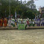 Meriahkan HUT RI ke 73, Camat Lais Buka Kegiatan Lomba Drum Band