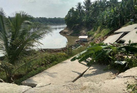 Lima Desa di Kecamatan Sungai Rotan Terancam Terisolir Akibat Jalan Amblas