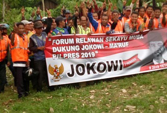 Forum Relawan Dukung Jokowi-Makruf Gelar Drklarasi