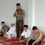 Dzikir Bersama Di Pesantren Darul Abrar, Kodim Aceh Jaya Melakukan Donasi Dana Untuk Palu