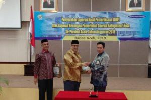 Pemkab Aceh Selatan Sabet WTP Empat Tahun Berturut